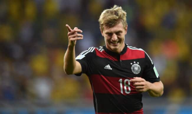Real Madrid signs World Cup winner Toni Kroos in a six-year deal