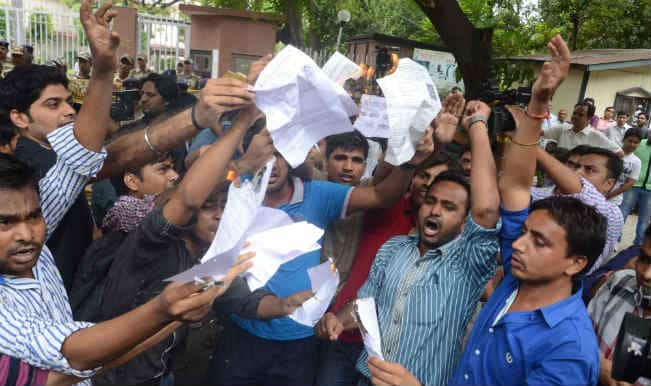 UPSC protest on, government advises protestors to stay calm