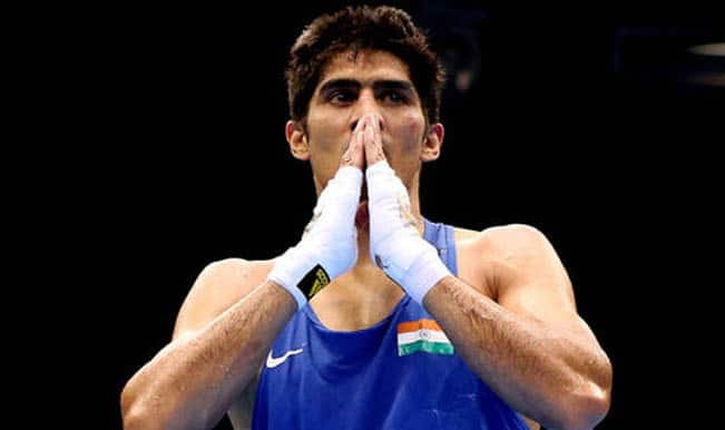 Commonwealth Games 2014: Boxers Vijender Singh, Manoj Kumar in last 16