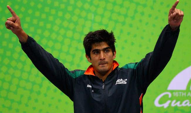 Vijender Singh and 4 other boxers assured of medals at Commonwealth Games