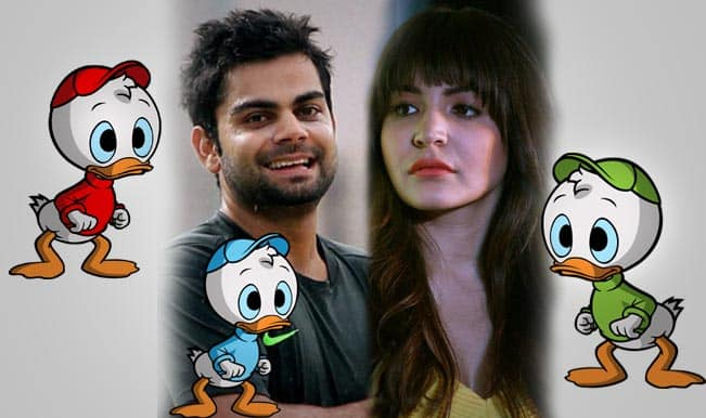 Virat Kohli-Anushka Sharma to feature in Ducktales: Twitterati goes crazy over the couple's not-so-memorable England tour!