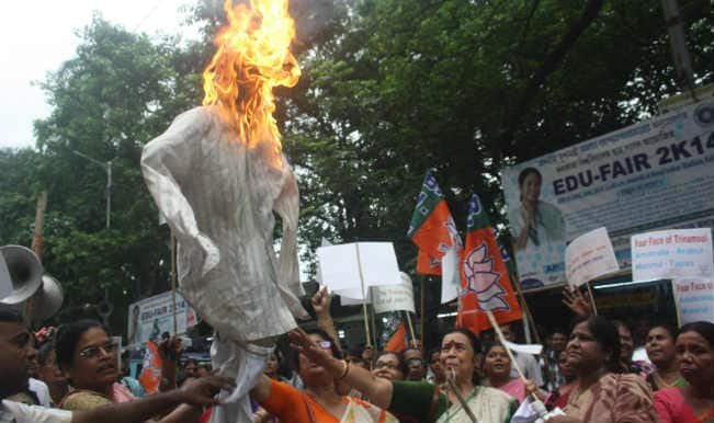 Protests continue in West Bengal against Tapas Paul
