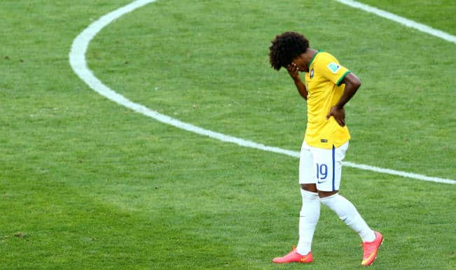 Willian hands Brazil new worry