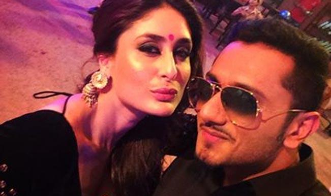 Watch: Yo Yo Honey Singh croons for Singham Returns, posts selfie with Kareena Kapoor!