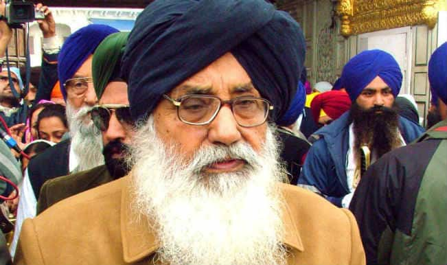 Parkash Singh Badal asks people to make Punjab 'progressive'