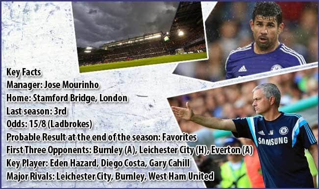 Barclays Premier League 2014-15 Team Preview: Chelsea