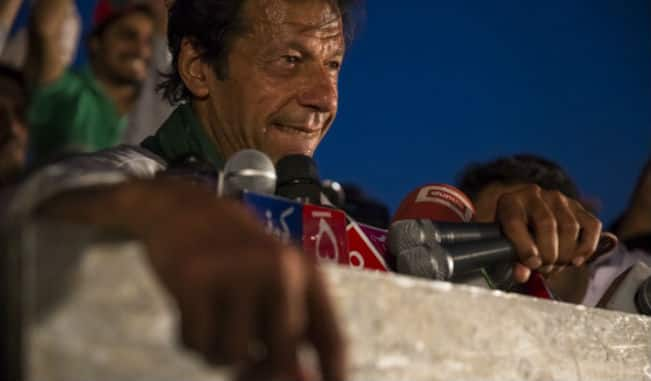 Imran Khan launches anti-government march from Lahore