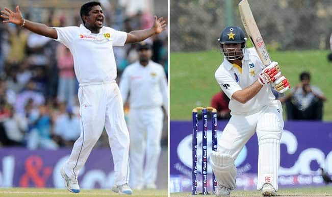 Sri Lanka keep up pressure on Pakistan