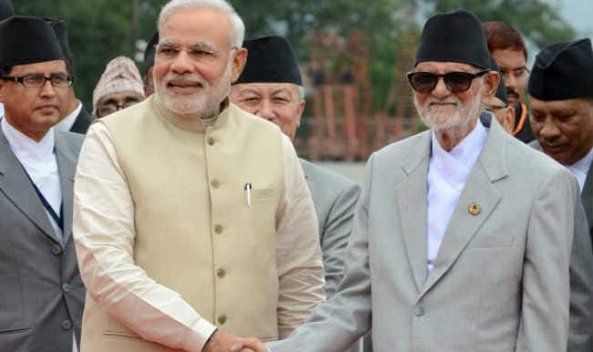 Narendra Modi, Sushil Koirala hold talks