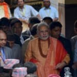 Felt blessed on offering prayers at Pashupatinath temple: Narendra Modi