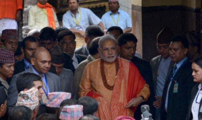 Felt blessed on offering prayers at Pashupatinath temple: Narendra Modi