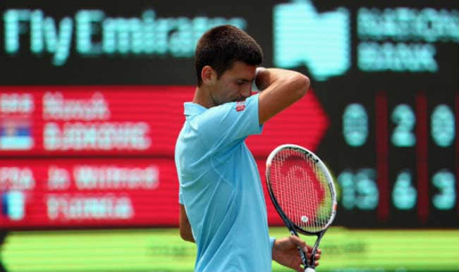 Novak Djokovic knocked out by Jo-Wilfried Tsonga in straight sets in Toronto Masters