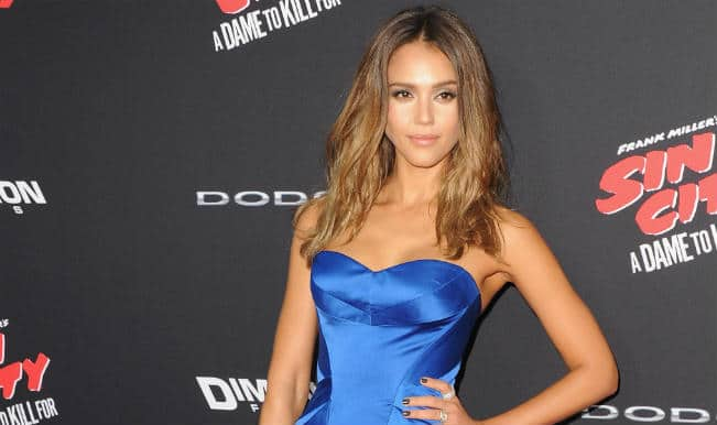 Jessica Alba's imagination to be a 'super human'