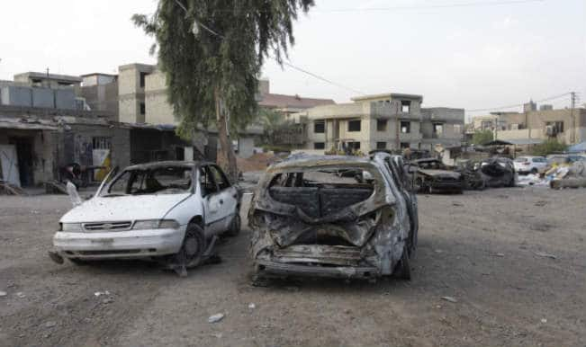 Suicide bomber targets Iraqi forces, killing seven