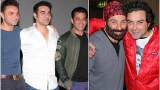 2016 Raksha Bandhan Special: Salman Khan-Arbaaz Khan-Sohail Khan, Sunny Deol-Bobby Deol - Famous Bollywood brothers in real life