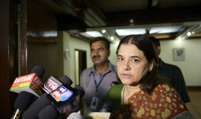 Maneka Gandhi pitches for Varun as Uttar Pradesh Chief Minister at Pilibhit public meeting