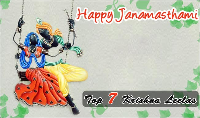 Janmashtami Special: Top 7 Krishna Leelas that will delight you!
