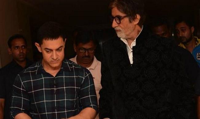 Aamir Khan's secret meeting with Amitabh Bachchan at Yash Raj Films, again