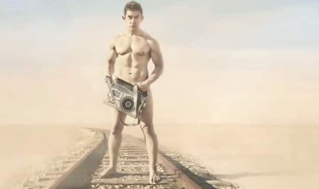 PK motion poster out: Nude Aamir Khan dares you to stare at him!