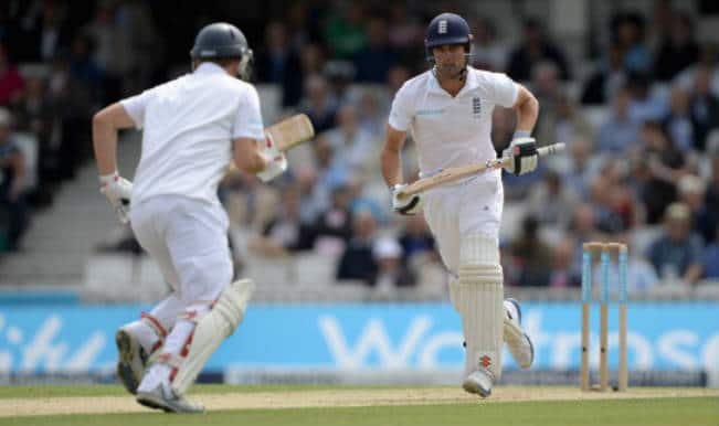 India vs England 2014, Live Cricket Score, 5th Test, Day 2: England 385/7 against India at second day close