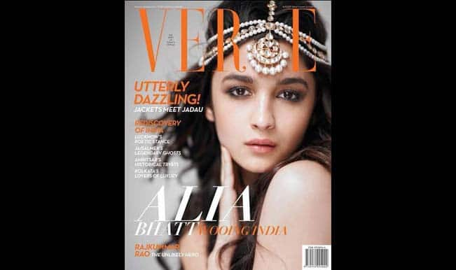 Alia Bhatt on the cover of Verve magazine: Does the babe sizzle or fizzle?