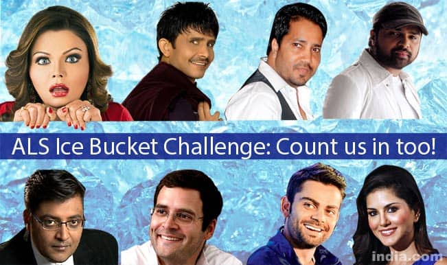 Arvind Kejriwal, Sunny Leone, Arnab Goswami: Top 9 celebs who should take ALS Ice Bucket Challenge!