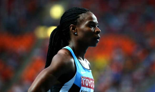 Amantle Montsho's positive dope test at the Commonwealth Games confirmed by Games Federation
