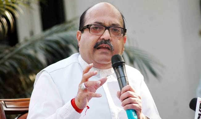 Amar Singh shares dais with Samajwadi Party chief, says he was 'Mulayamwadi'