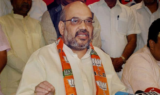 Big day for BJP as party worker unfurled flag: Amit Shah