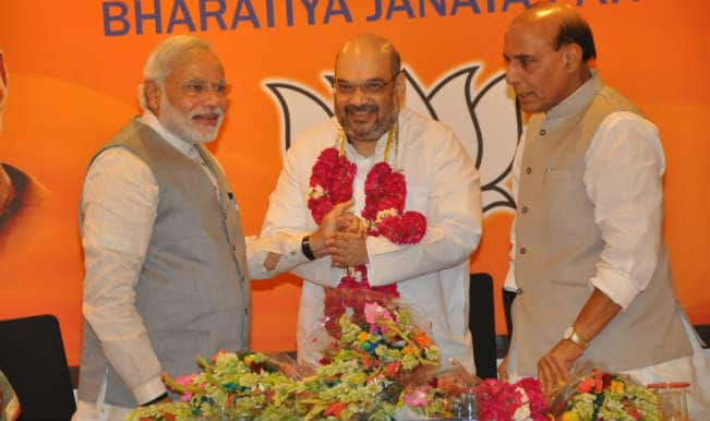 Amit Shah announces new Bharatiya Janata Party team
