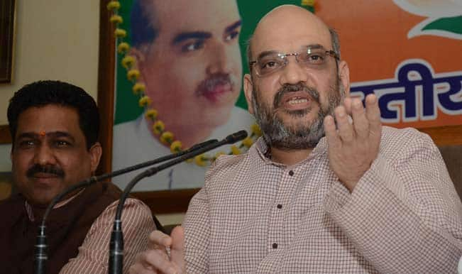 Amit Shah's speech creates rift between BJP-Shiv Sena