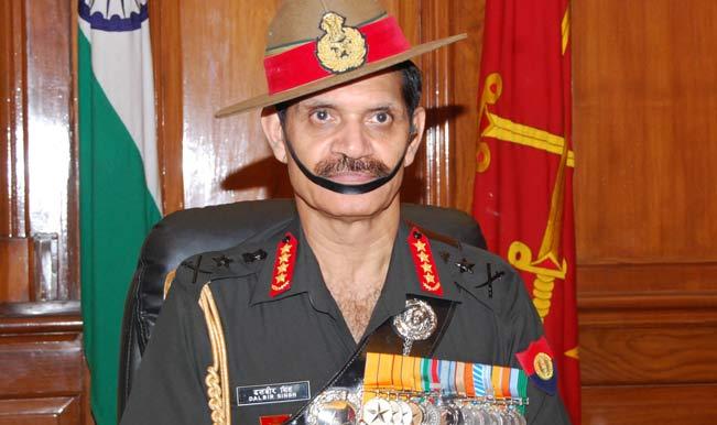 General Dalbir Suhag Singh expresses gratitude towards the government