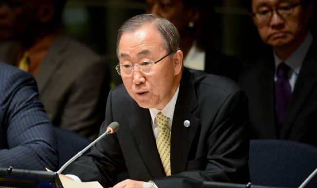 UN chief Ban Ki Moon to visit Europe, Africa