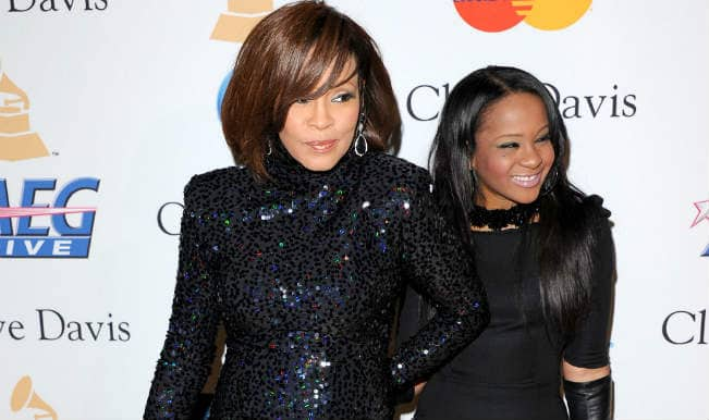 Daughter Bobbi Kristina Brown pays tribute to Whitney Houston