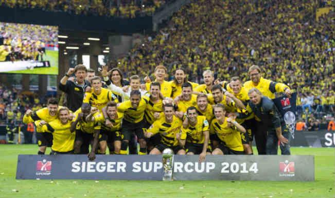 German SuperCup: Borussia Dortmund beat weakened Bayern Munich 2-0 to win the trophy