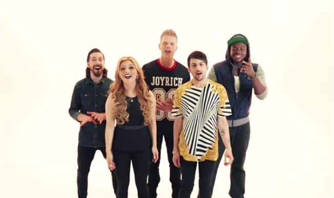 Watch Ariana Grande's 'Problem' cappella cover by Pentatonix