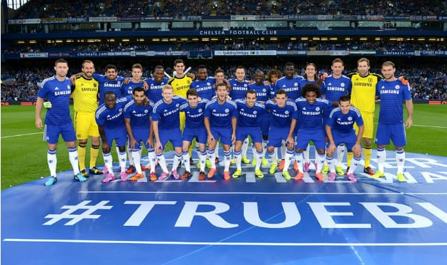 Chelsea FC Squad for the 2014-15 season
