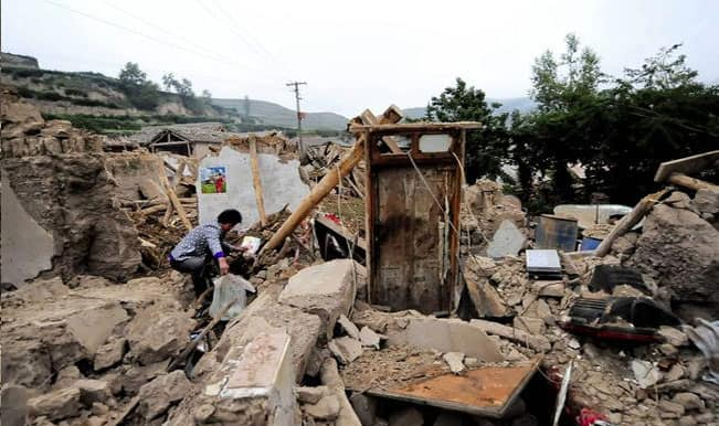 China quake toll rises to 589