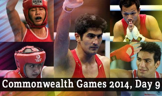 Commonwealth-Games-2014,-Day-9
