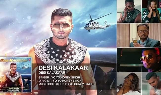 Yo Yo Honey Singh song Desi Kalakaar full audio out: Yet another catchy number from the rapper