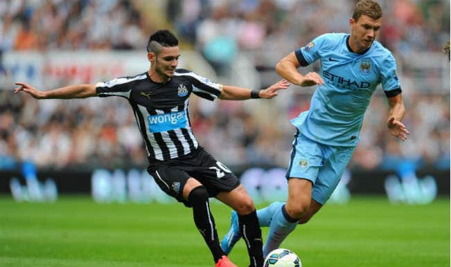Newcastle United vs Manchester City Live Updates, Barclays Premier League 2014-2015: Manchester City win 2-0 at Newcastle