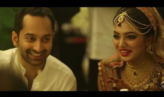 Must See: Fahad Fazil and Nazriya Nazim wedding video!