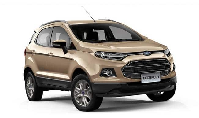 Ford Ecosport 100 000 Units Of Popular Suv Sold In India