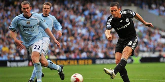 The goals Frank Lampard scored against Manchester City 4