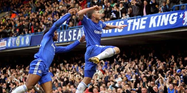 The goals Frank Lampard scored against Manchester City 5