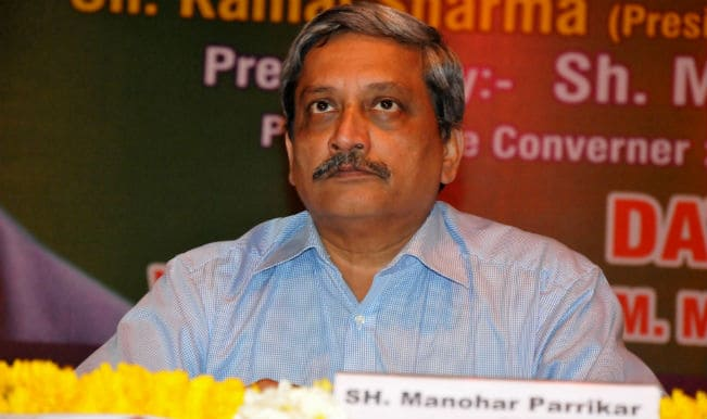 College principal has a bigger cabin than I have: Manohar Parrikar