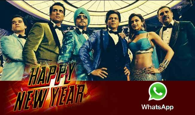 'Happy New Year' trailer to be shared by Shah Rukh Khan on Whatsapp!