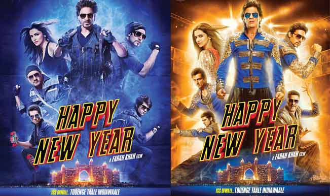 Happy New Year new movie posters: Check out Shah Rukh Khan & Co. in super-stylish avatars!