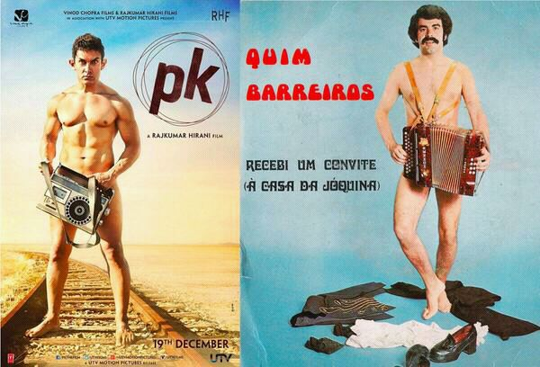 Aamir Khan's nude pose on PK poster: Is Mr Perfectionist a copycat?