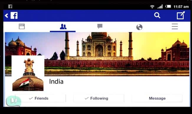 Celebrate Independence Day with India's Facebook Timeline Journey (Watch Video)